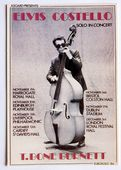 Elvis Costello - 'Solo in Concert' Postcard